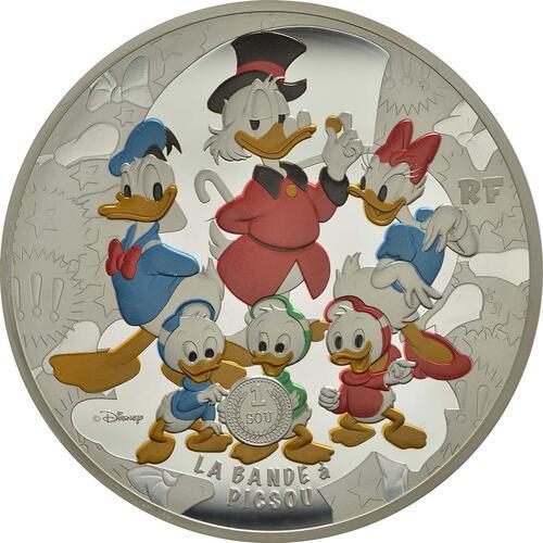 Vorderseite :Frankreich : 50 Euro Dagobert Duck / Scrooge McDuck  2017 PP