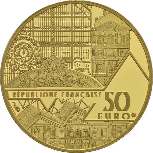 Rückseite:Frankreich : 50 Euro Venus von Milo  2017 PP