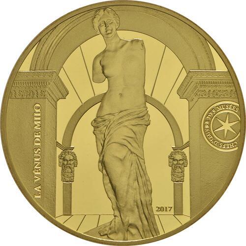Vorderseite:Frankreich : 50 Euro Venus von Milo  2017 PP