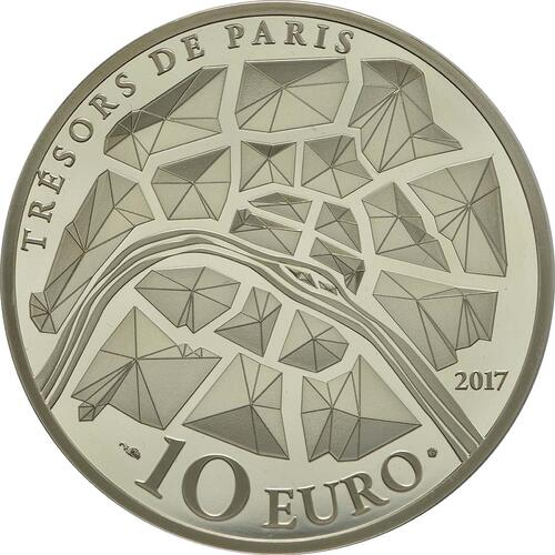Rückseite :Frankreich : 10 Euro Génie de la Bastille  2017 PP