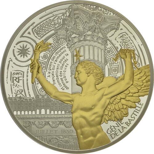 Vorderseite :Frankreich : 10 Euro Génie de la Bastille  2017 PP