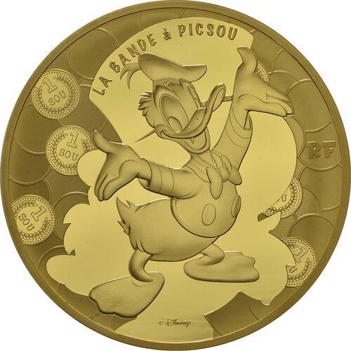 Vorderseite:Frankreich : 200 Euro Dagobert Duck / Scrooge McDuck  2017 PP