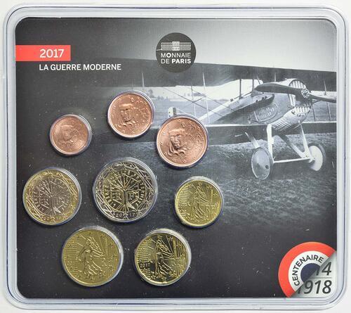 Lieferumfang :Frankreich : 3,88 Euro Mini KMS Erster Weltkrieg  2017 Stgl.