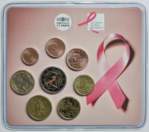 Lieferumfang :Frankreich : 3,88 Euro Mini KMS Kampf gegen den Brustkrebs  2017 Stgl.