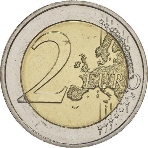Vorderseite :Luxemburg : 2 Euro 50 Jahre Freiwilligenarmee in Luxemburg  2017 bfr
