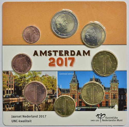 Lieferumfang :Niederlande : 3,88 Euro KMS Niederlande klein  2017 vz/Stgl.
