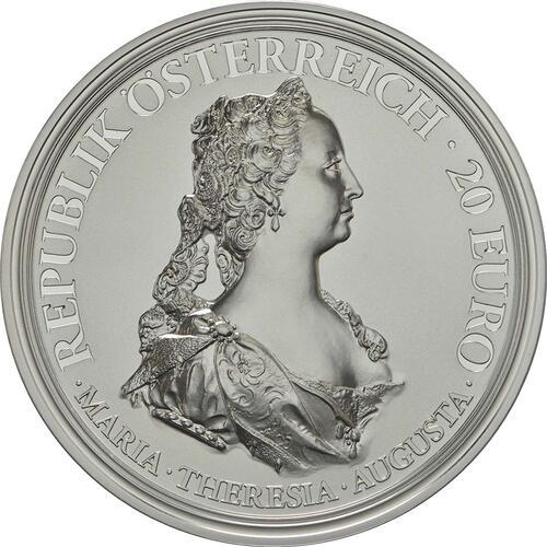 Vorderseite :Österreich : 20 Euro Tapferkeit und Entschlossenheit  2017 PP