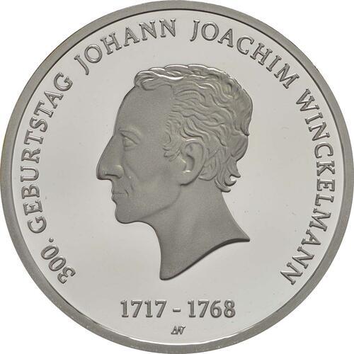 Vorderseite :Deutschland : 20 Euro 300. Geburtstag Johann Joachim Winckelmann  2017 PP