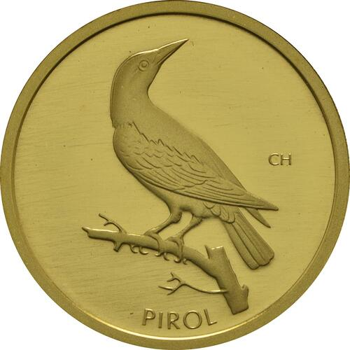 Vorderseite :Deutschland : 20 Euro Pirol  2017 Stgl.
