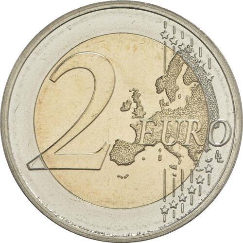 Vorderseite:Deutschland : 2 Euro Rheinland-Pfalz - Porta Nigra  2017 bfr