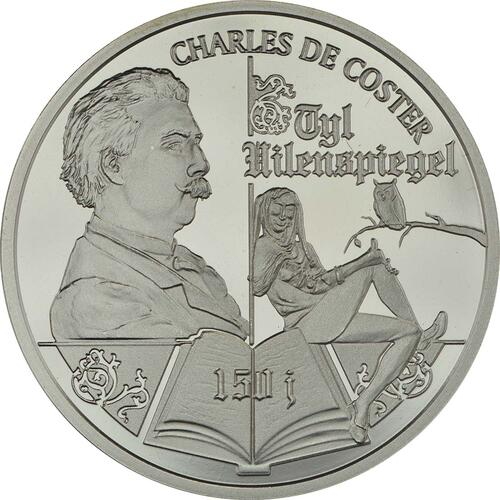 Vorderseite:Belgien : 10 Euro 150 Jahre Publikation über Till Eulenspiegel  2017 PP