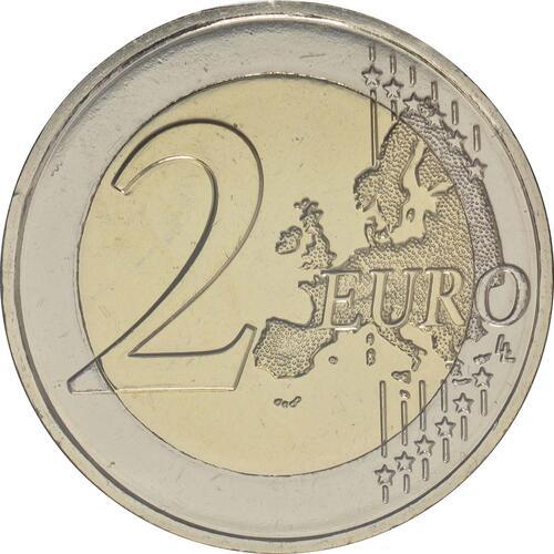 Vorderseite:Malta : 5,88 Euro KMS Malta mit 2 Euro Gedenkmünze Hagar Qim  2017 Stgl.