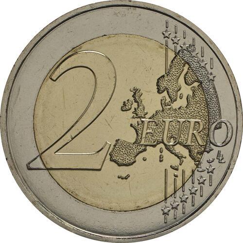 Vorderseite :Malta : 2 Euro Hagar Qim  2017 bfr