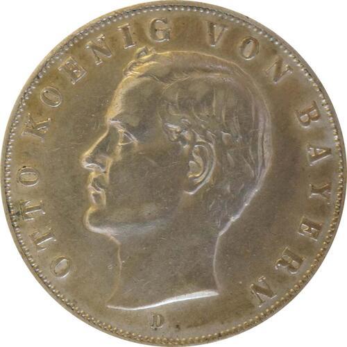 Vorderseite:Deutschland : 3 Mark Otto  1910 ss.