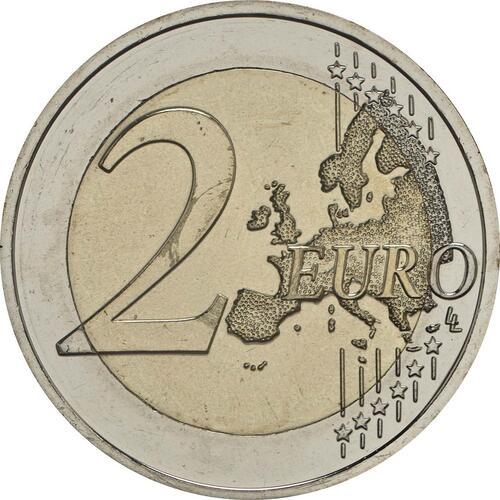 Vorderseite:Slowenien : 2 Euro 10. Jahrestag der Einführung des Euro in Slowenien  2017 bfr