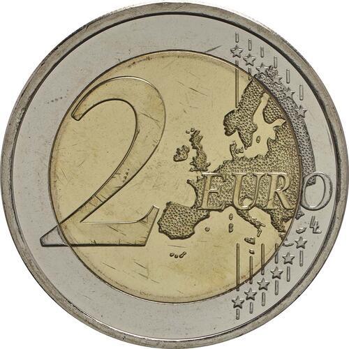 Vorderseite :Finnland : 2 Euro 100. Jahrestag der Unabhängigkeit Finnlands  2017 bfr