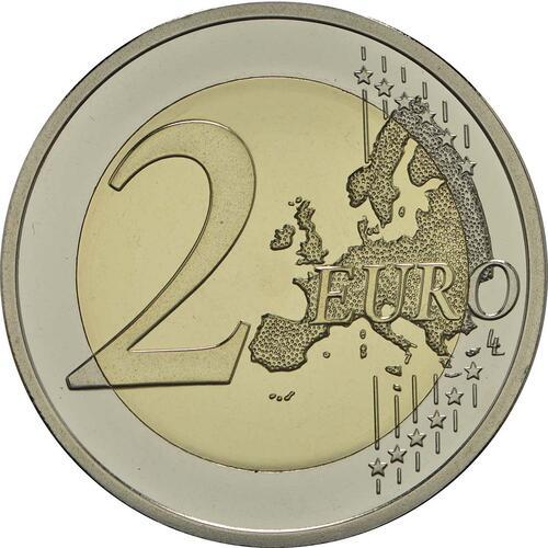 Vorderseite:Finnland : 2 Euro 100. Jahrestag der Unabhängigkeit Finnlands  2017 PP