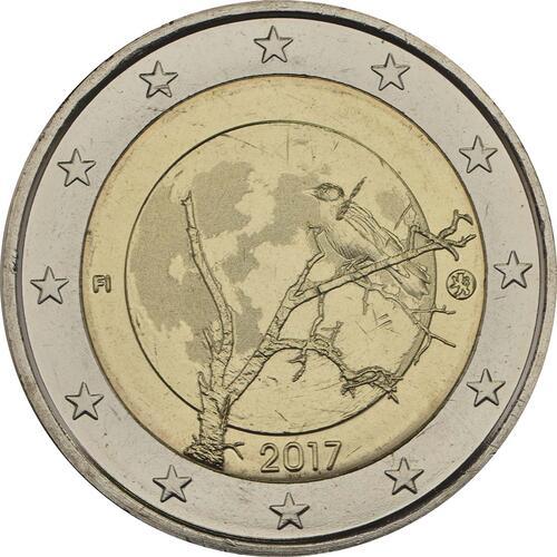 Rückseite :Finnland : 2 Euro Finnische Natur  2017 bfr