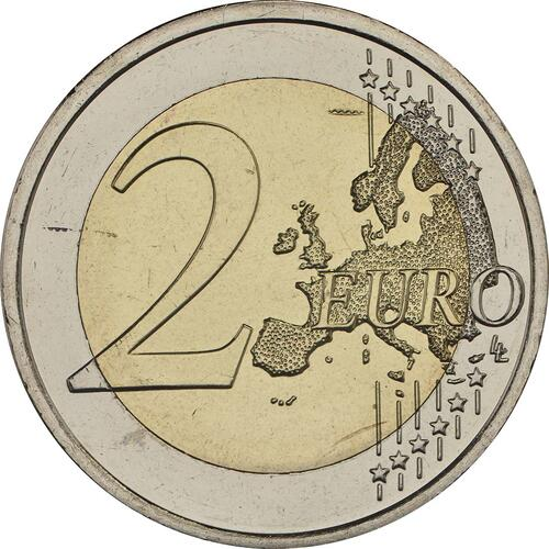 Vorderseite:Finnland : 2 Euro Finnische Natur  2017 bfr