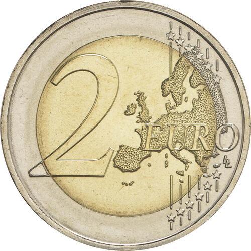 Vorderseite:Portugal : 2 Euro 150 Jahre Sicherheit / Polizei  2017 bfr