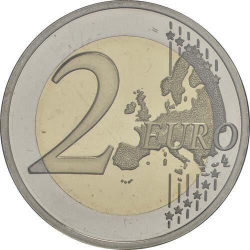 Vorderseite:Portugal : 2 Euro 150 Jahre Sicherheit / Polizei  2017 PP