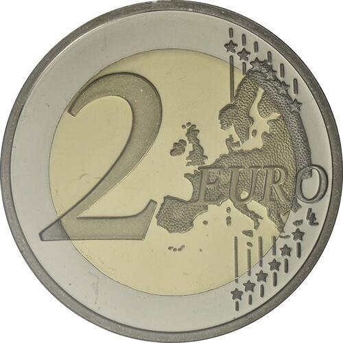 Vorderseite :Portugal : 2 Euro 150 Jahre Raul Brandao  2017 PP