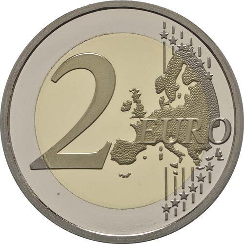 Vorderseite :Monaco : 2 Euro 200 Jahre Fürstliche Karabinierskompanie  2017 PP
