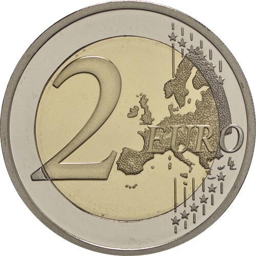 Vorderseite:Griechenland : 2 Euro 60. Todestag von Nikos Kazantzakis  2017 PP