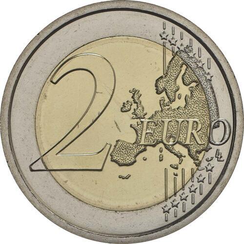 Vorderseite :Italien : 2 Euro 2000. Todestag von Titus Livius  2017 bfr