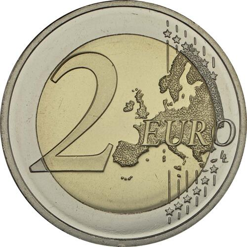 Vorderseite:Lettland : 2 Euro Latgale  2017 bfr