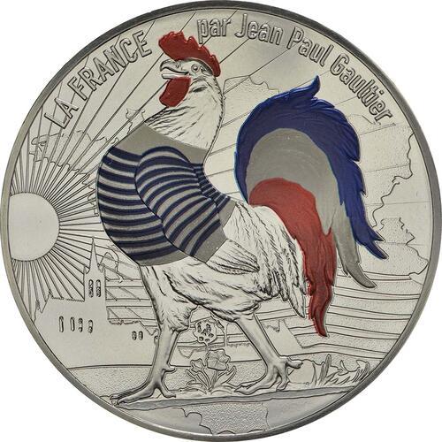 Vorderseite:Frankreich : 50 Euro Ausgabe 1 coloriert  2017 bfr