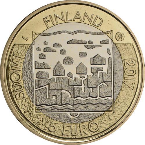 Rückseite :Finnland : 5 Euro Ryti  2017 PP