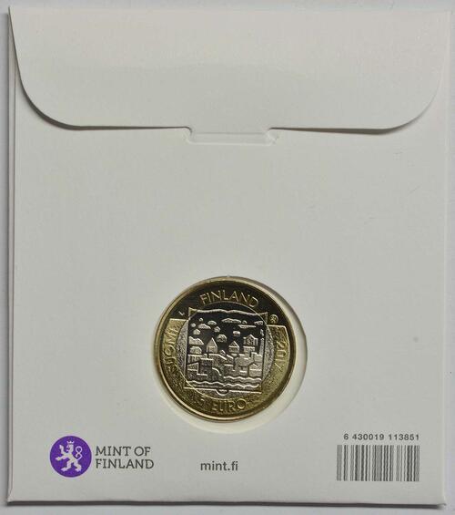 Rückseite :Finnland : 5 Euro Ryti  2017 Stgl.