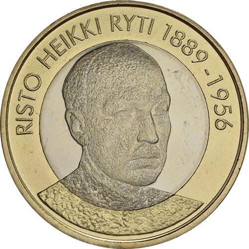 Vorderseite :Finnland : 5 Euro Ryti  2017 bfr