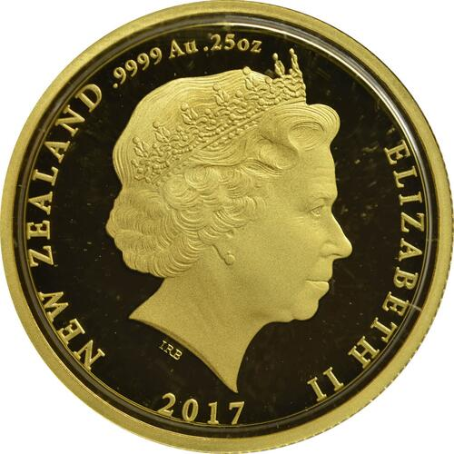 Rückseite :Neuseeland : 10 Dollar The Darkest Hour - Sling Camp - WW1  2017 PP