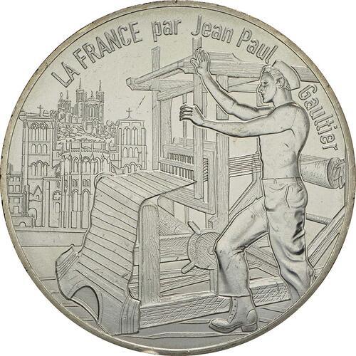 Vorderseite:Frankreich : 10 Euro Lyon la lumineuse  2017 bfr