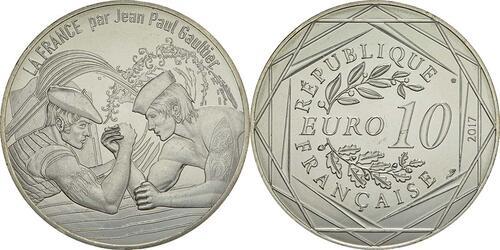 Lieferumfang:Frankreich : 10 Euro Le Pays Basque, Euskal Herria  2017 bfr