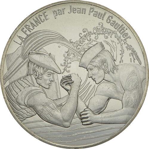 Vorderseite:Frankreich : 10 Euro Le Pays Basque, Euskal Herria  2017 bfr