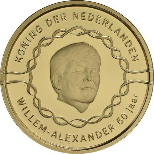 Vorderseite :Niederlande : 20 Euro 50 Jahre König Willem Alexander  2017 PP