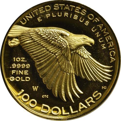 Rückseite :USA : 100 Dollar Black Liberty  2017 PP