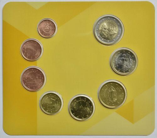 Vorderseite:San Marino : 3,88 Euro KMS San Marino  2017 Stgl.