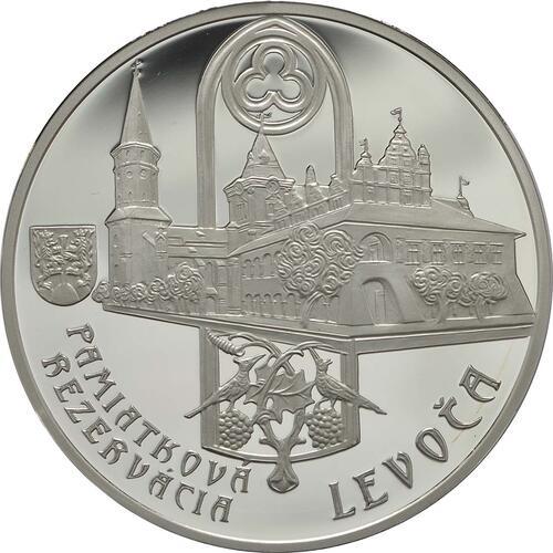 Vorderseite:Slowakei : 20 Euro St. Jakobs Kirche in Levoca  2017 PP