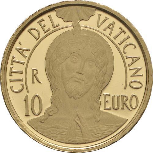 Vorderseite:Vatikan : 10 Euro Die Taufe - MMXVII  2017 PP