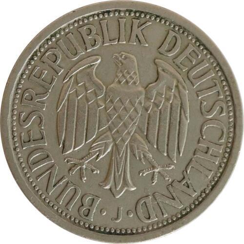 Rückseite:Deutschland : 2 DM Ähren  1951 ss/vz.