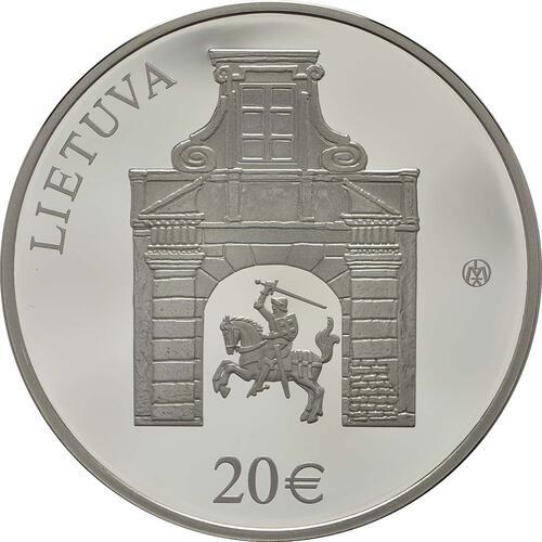 Rückseite :Litauen : 20 Euro Radziwill  2017 PP