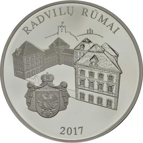 Vorderseite:Litauen : 20 Euro Radziwill  2017 PP