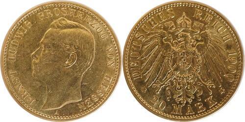 Lieferumfang:Deutschland : 20 Mark   1900 ss.