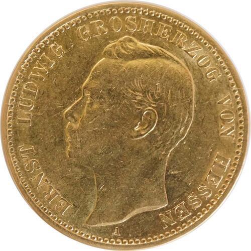 Vorderseite:Deutschland : 20 Mark   1900 ss.