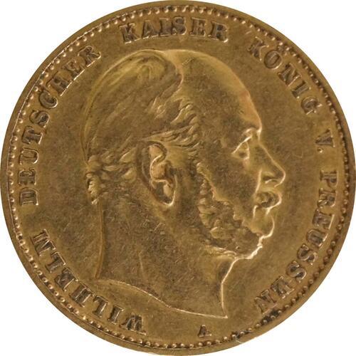 Vorderseite :Deutschland : 10 Mark   1879 f.ss