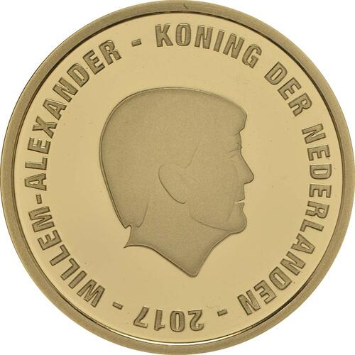 Rückseite:Niederlande : 10 Euro Johan Cruijff  2017 PP
